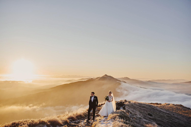 splener ślubny bieszczady